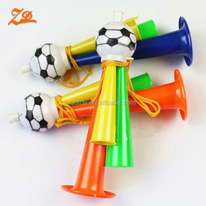 sports cheering fan plastic football horn fan horn soccer cheering fan horn
