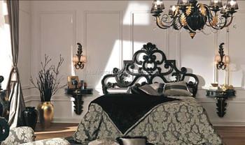 Di Lusso Design Classico Barocco Francese Letto Stile Scolpito ...