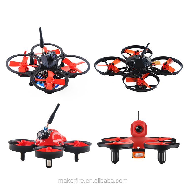 Makerfire brand tiny whoop Compatible with ALL Spektrum Transmitter BNF mini camera drone Indoor Racing Drone