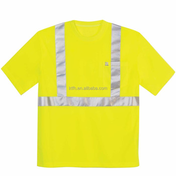 2017 wholesale alibaba hi vis yellow reflective t shirt custom t shirts  orange mens t shirt