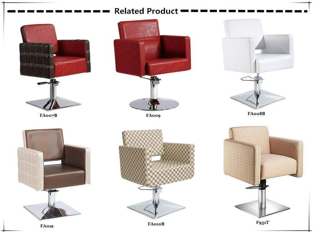 Professional supplier waiting chair couch salon waiting for Colored salon chairs