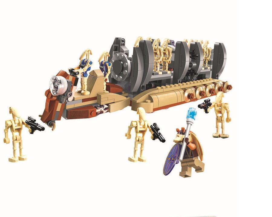 Star Wars 7 battle droid troop carrier Figure toys building blocks set marvel compatible with UKlego