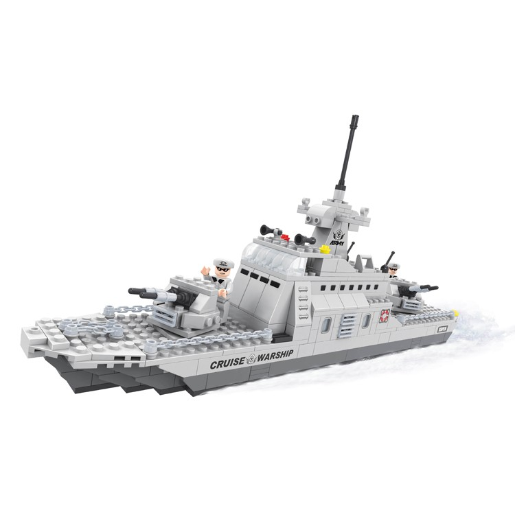 High performance military blocks set 402 pcs model construction toys