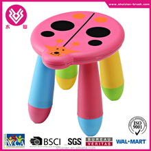 2016 hot selling Coccinellidae animal shaped plastic children's stool furniture
