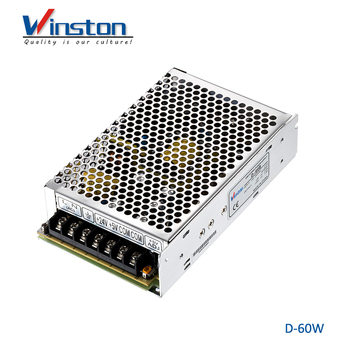 CE ROHS Input multiple Dual output D-60A 12v 3A output AC DC power supply with 2 years warranty