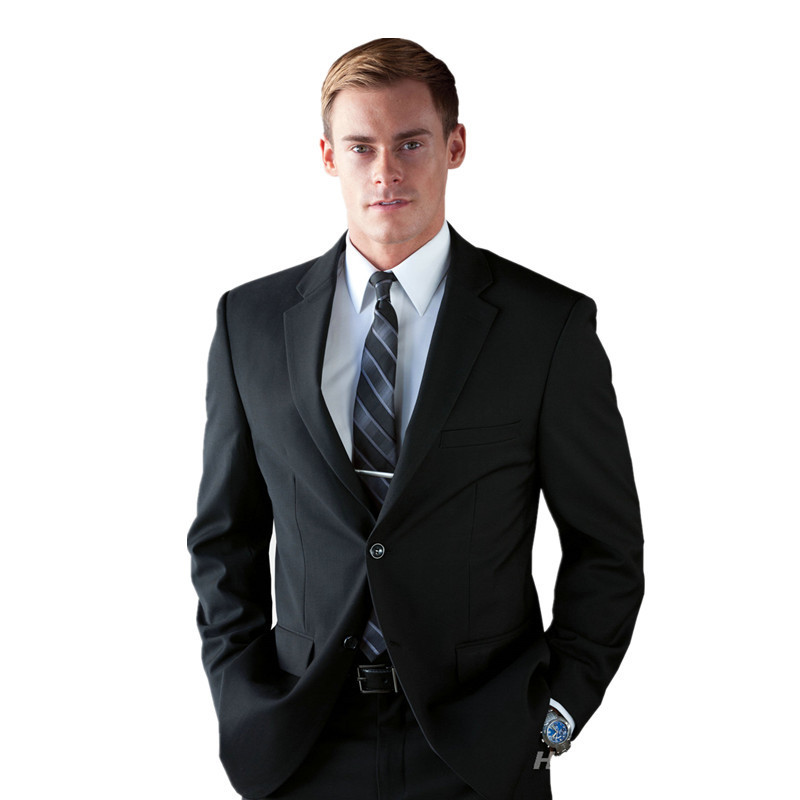 Buy Custom Made Men Suits Designer Black Formal Suits Men Wedding