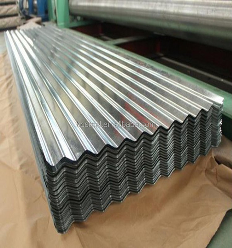 cold rolled steel plate dx51d metal galvanized corrugeted roofing sheets