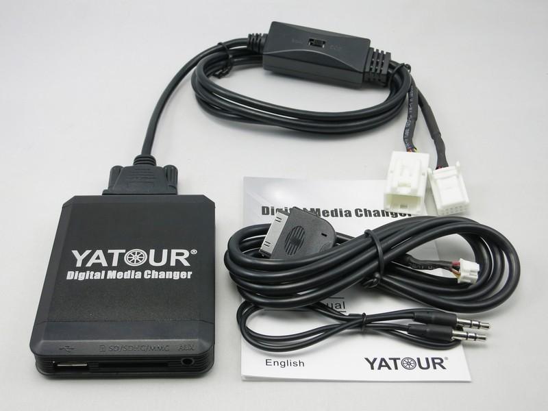 Yaris Bluetooth manos libres de teléfono entrada aux MP3 Cargador USB 1.0 A Módulo 6+6 Pin