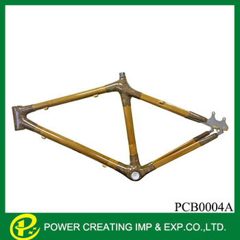 26\'\' New Design Environmental Bamboo Bike Frame For Mountain Bicycle ...