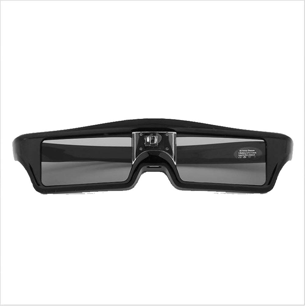 Garyesh 3D Glasses DLP Series Rechargeable Glasses Hi-Brightness/Hi-Contrast Compatible with All and Only DLP Link 3D Projectors