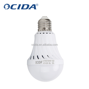 2018 New arrival 7w smart led emergency light bulb