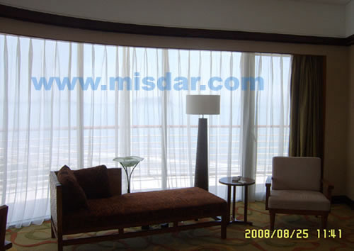 depot system double and remote rod home curtains rail control traverse motorized curtain power window electric