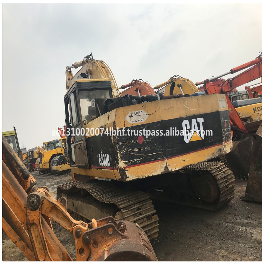 Used Caterpillar 200B Crawler Excavator For Sale/Used CAT 200B Tracked Excavator in Low Price Good Condition
