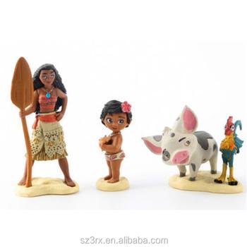 Haciendo De Moana Figuras De Accion Ninos Juguete Decoracion Del - Decoracion-figuras