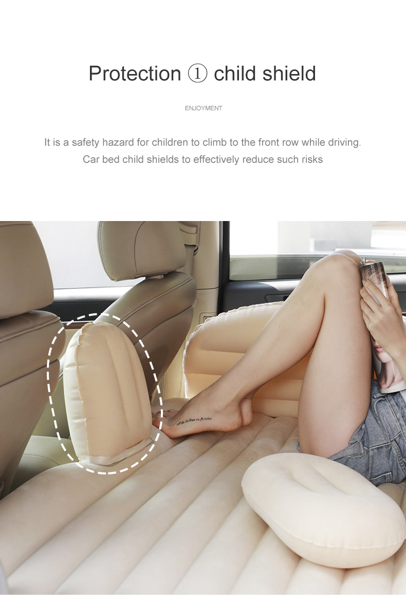 Kaisi Outdoor Portable mattress airbed Resting Leisure Car Mattress inflatable air bed for car