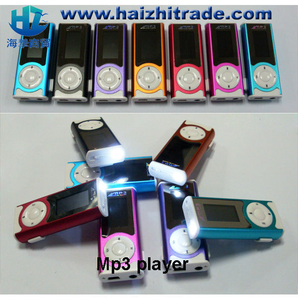wholesale Good Quality Fancy card reader mp3 , mp3 player with display screen