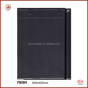 Hot sale Synthetic Resin Material and black slate plain roof tiles type