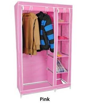DIY Children Wardrobe Closet/ 5 Small Cubes Assemble Plastic Portable  Wardrobe Closet