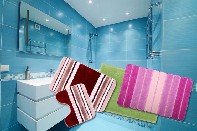 Best Selling Absorbent Bath Rug Without Rubber Backing