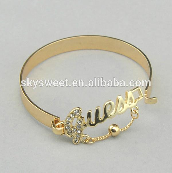 fb16e6cdc492 Brillante pulsera de oro para la venta