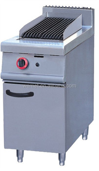 Restaurant Gas Lava Rock Grill Char Broiler With