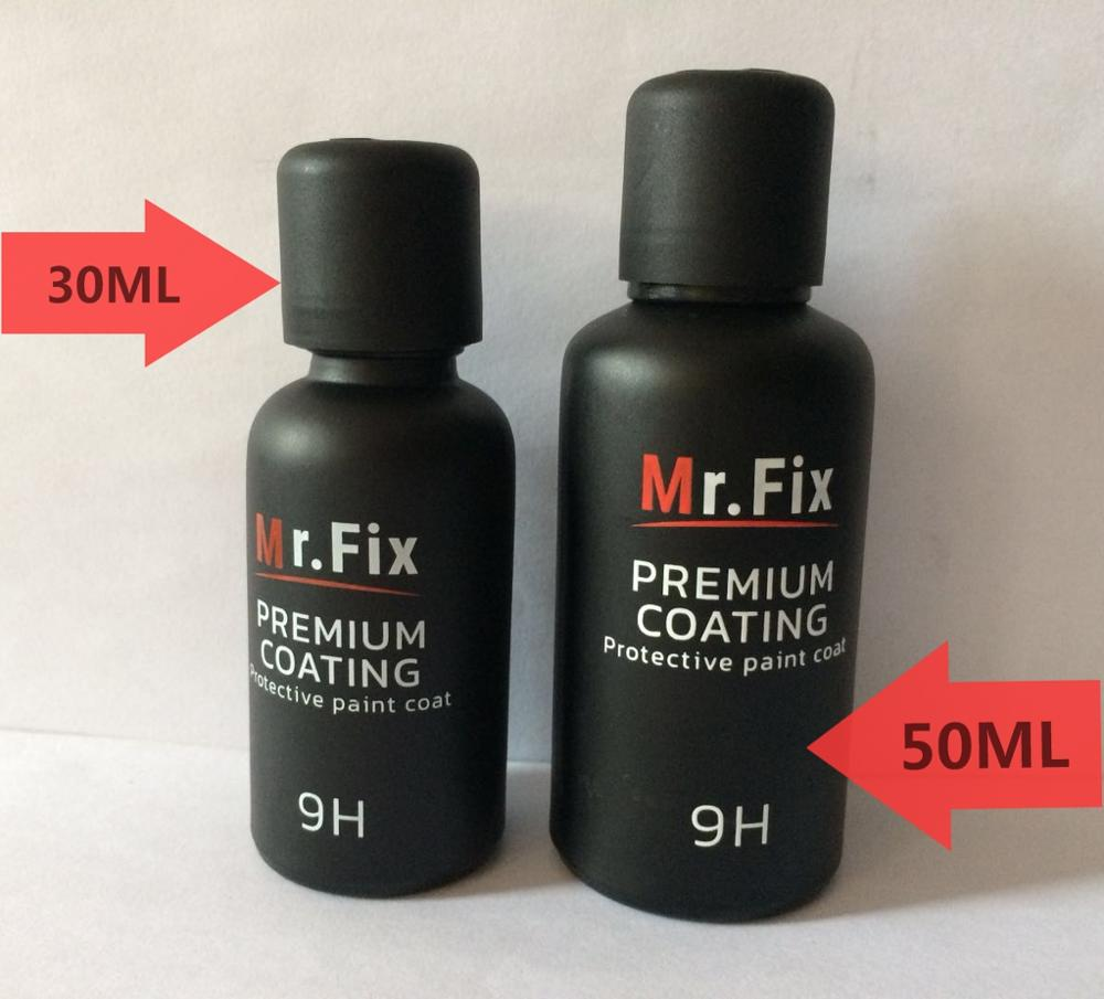 9H ceramic 50ML SiO2 <strong>coating</strong> from chinese factory new formula MR-FIX9H ceramic <strong>coating</strong> Nano bond MR.FIX 9H nano glass <strong>coating</strong>