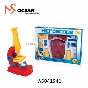 Explore toys discover kid DIY Plastic mobile microscope set