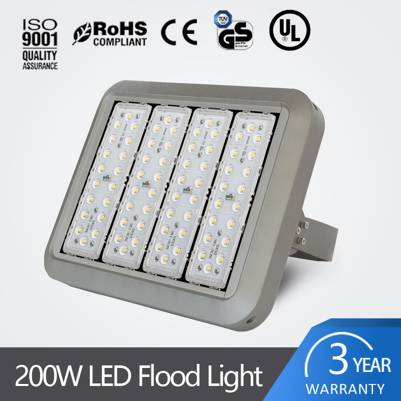 led outdoor light waterproof <strong>flood</strong> modular design IP67 100w 200w 300w outdoor led <strong>flood</strong> lighting with ce rohs ul approved