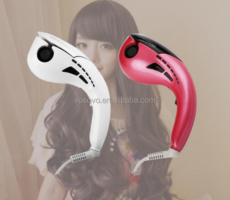 CE Private Label Automatic Rotating Hair Curler with Digital Display Salon Equipment Professional Steamer