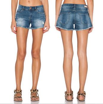 Korte Broek Dames Spijker.Ey0325a Retro Vrouwen Denim Shorts Dames Korte Broek Van De Jeans