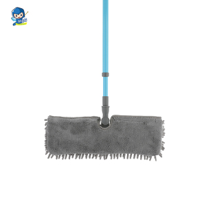 House cleaning supplies Microfiber stick frame flat mop virgin PP plastic mop floor cleaning mop