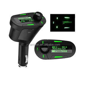 Hot Sale Car Kit MP3 Player Wireless 618 FM Transmitter Modulator USB/SD/MMC LCD With Remote