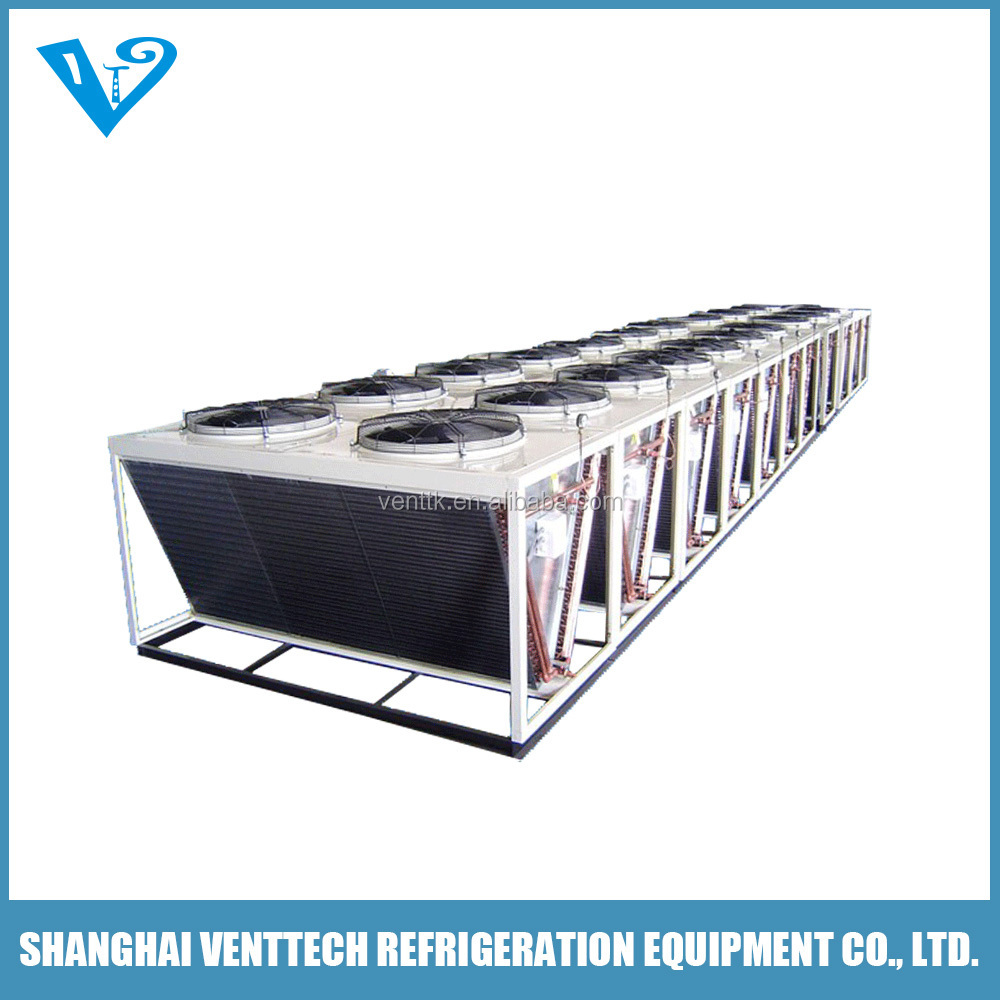 China good quality big sized V shaped industrial dry air cooler