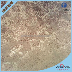 new Competitive price with best quality for window flower design blackout curtain fabric