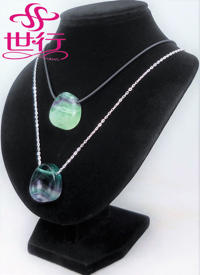 crystal healing point pendants green fluorite carved crystal pendants wholesale gemstone