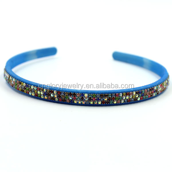 Factory wholesale fashion thin plastic headbands to decorate