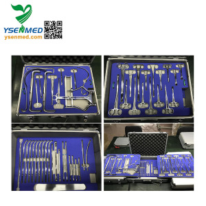 Medical 35pcs Gynecological Surgery Instrument Set Delivery Set Dilators Set