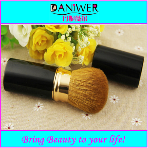 2016 New arrival Oval Cream tooth brush style Makeup Fiber Brush cosmetic tooth brush