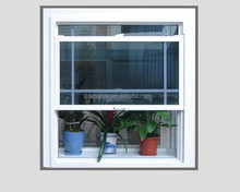 Experienced factory fashionable exterior pvc vertical sliding window for sale