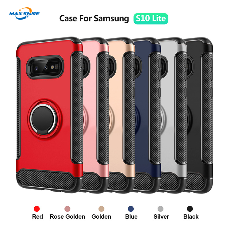 Maxshine Universal Premium Carbon Fibre Phone Case Cover For Samsung S10 S10 Plus S10E