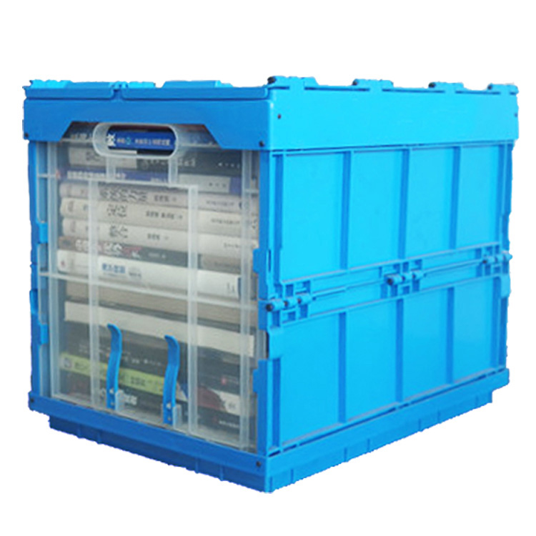New PP Plastic Foldable Packaging Box/Crate, Clear Storage Food Container