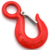 High Quality Harsh Environment 125*75mm Hook Carabiner for Left Heavy Materials
