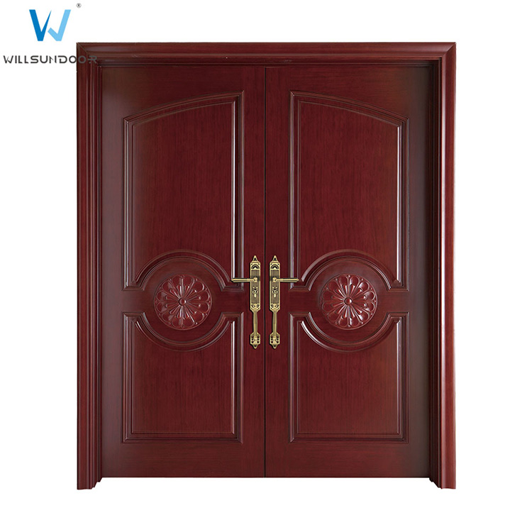 Sunmica Wood Design Home Main Double Door Models