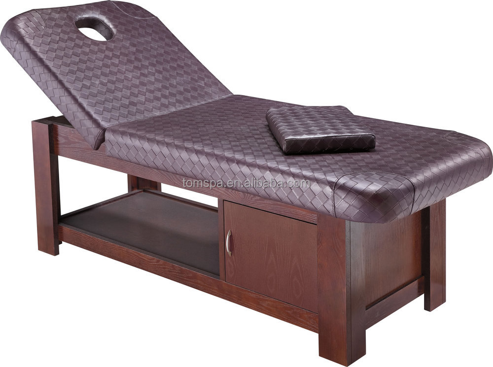 Ts 2319a tomspa newest luxury beauty bed massage table for Beauty salon bed