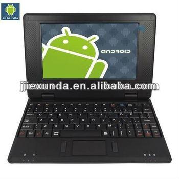 7 Zoll Mini Laptop Android 40 Wm8850 1 Gb Ram Für Kinder Und