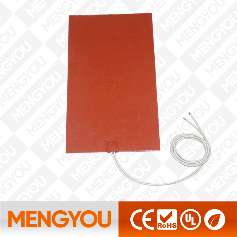 220V Silicone Heater Heated Bed Pad Heating Mat 3D Printer 15W 1000W 110V