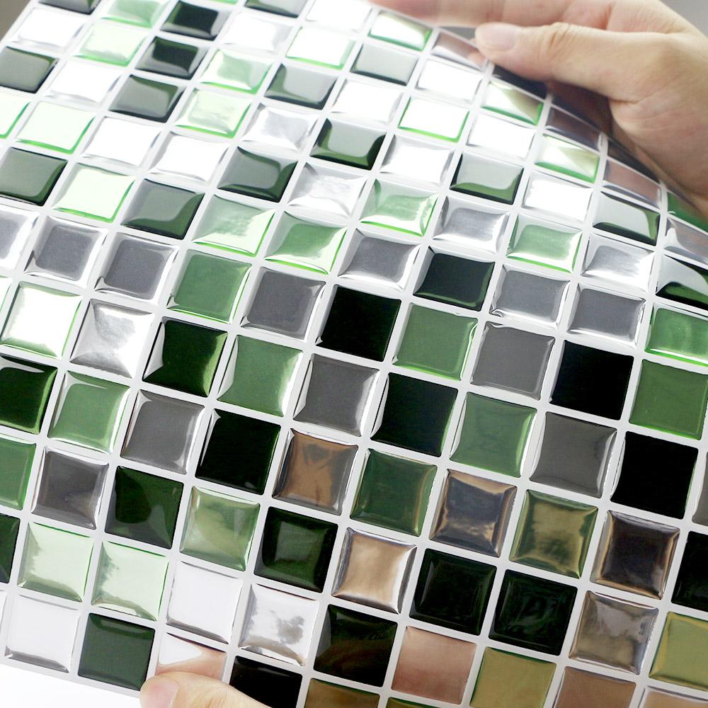 - Interior Decoration Self Adhesive Waterproof Mosaic Vinyl