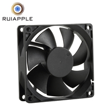 80mm X 80mm X 25mm <span class=keywords><strong>dc</strong></span> axiale ventilator 12 V kogellager met CE ROHS en UL