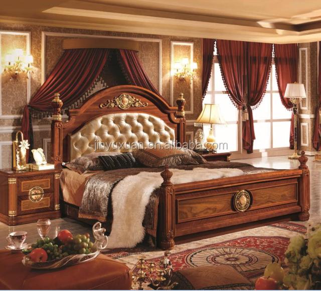 European Classical Bedroom Furniture Set Cdb-516# - Buy Bedroom Furniture  Set Cdb-608#,Wooden Bed,European Antique Bedroom Furniture Set Product on  ...