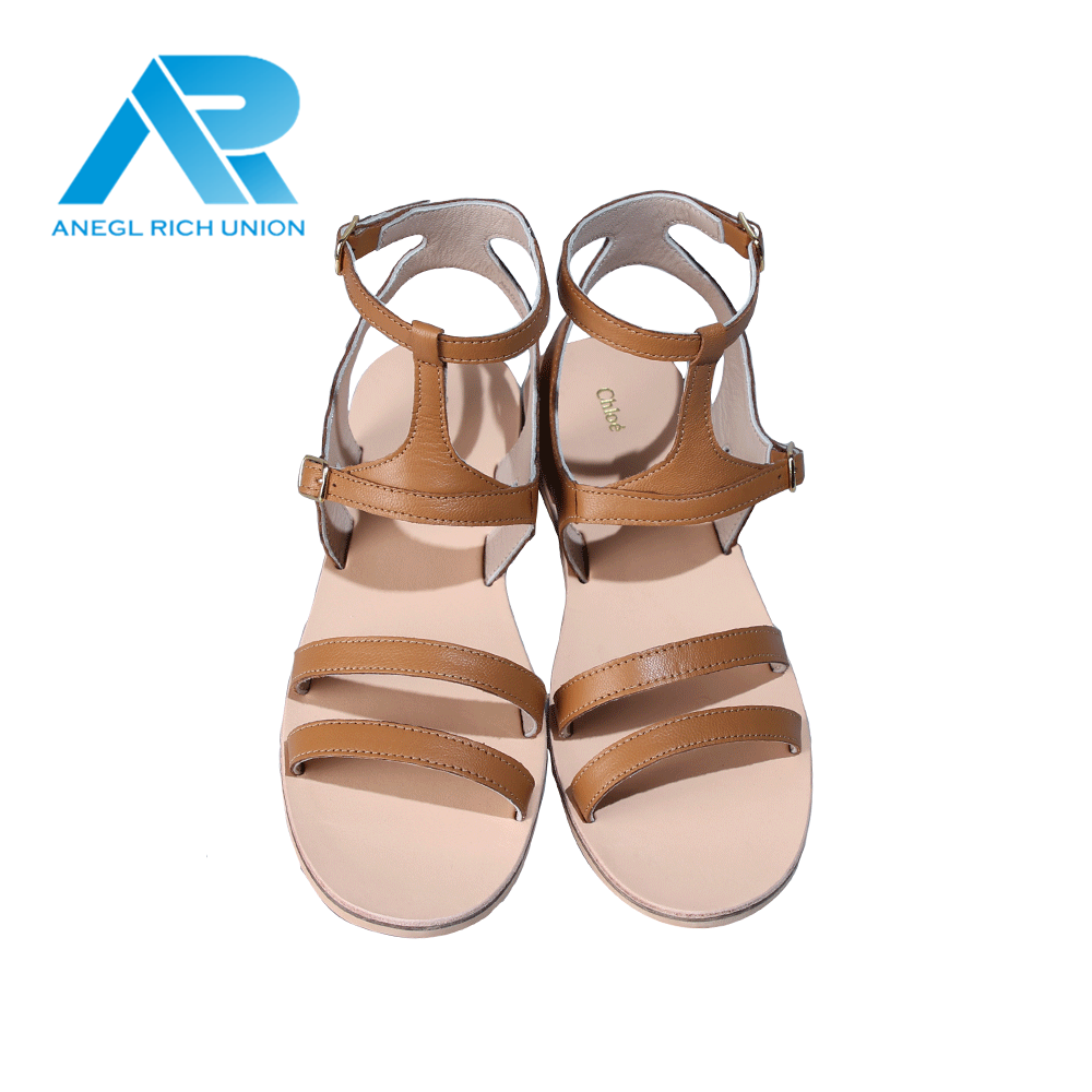 High quality jelly flat shoes sandals in summer fashion wholesale for women
